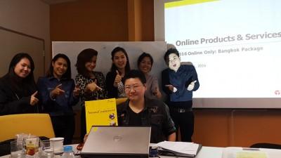 TMC จัดอบรมหลักสูตรความรู้และเทคนิคการขายสำหรับ Freelance Sales รุ่นที่ 1/2559