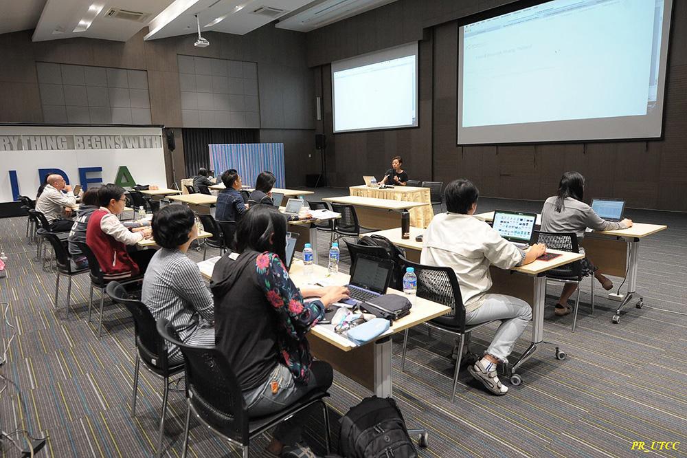 ภาพการอบรบกึ่ง Workshop ของ eTouch