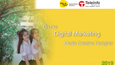 ฝึกงาน Digital Marketing Media Creative Designer