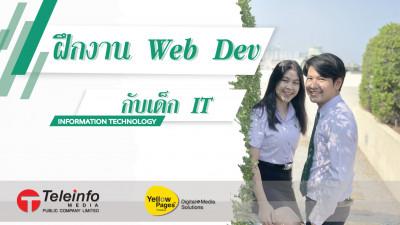 ฝึกงาน web dev กับเด็ก IT